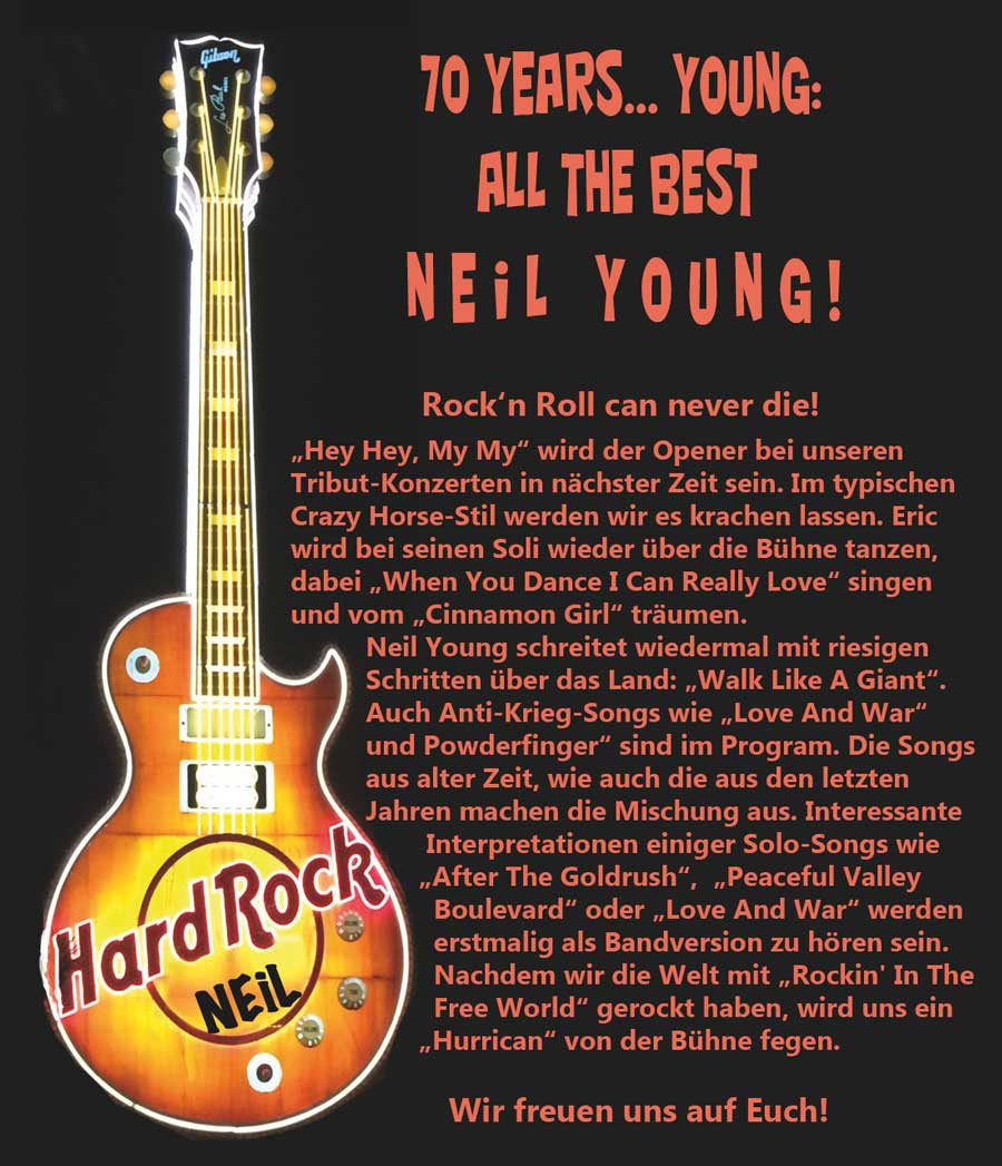 70 years neil young