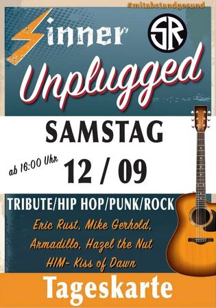 sinner unplugged festival